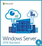 Microsoft Windows Server 2016 Standard - Up to 16 CPU or cores, up to 2 virtual servers