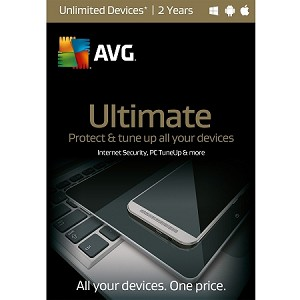 AVG Ultimate Protection 2016 - 2YR Unlimited Devices