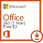 Office 365 Enterprise Plan E3 - 1 Year Subscription