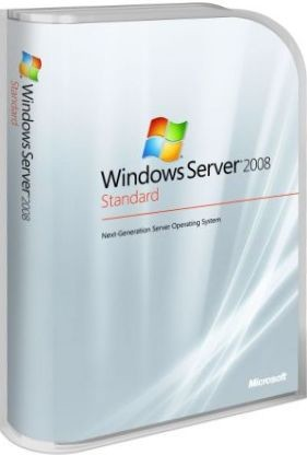 Microsoft Windows Server 2008 R2 Standard - 64-bit - w/5 CALs  Download
