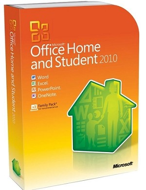 Microsoft Office 2010 Home and Student (Product Key) - Activates on 1 PC (Download)